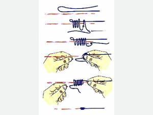 узлы в нахлысте